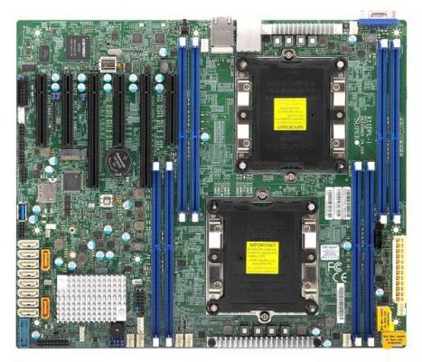 Материнская плата Supermicro X11DPL-i 2 x Socket 3647 C621 8xDDR4 2xPCI-E 16x 1xPCI-E 4x 3xPCI-E 8x 10 ATX Retail MBD-X11DPL-I-O цена и фото