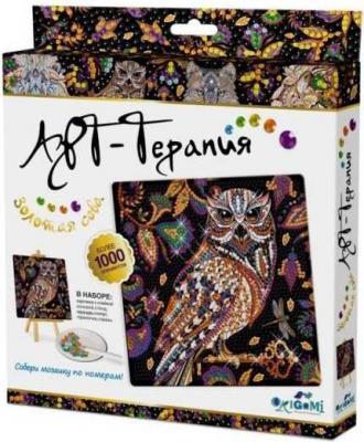 Мозаика Алмазные узоры Золотая Сова Арт-терапия набор для творчества оригами арт терапия мозаика алмазные узоры лотос 02459