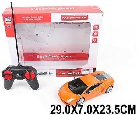 Машинка на радиоуправлении Наша Игрушка Машина оранжевый от 3 лет пластик 620-19 игрушка на радиоуправлении jjrc h12c dfd f181 fpv hd 5 0mp nswb d 8 3