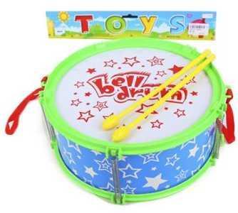 Купить Барабан Праздник 24 см, 2 пал., Наша Игрушка, голубой, Детские музыкальные инструменты