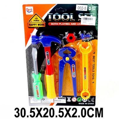 Игровой набор Наша Игрушка Набор инструментов 6 предметов набор музыкальных инструментов наша игрушка