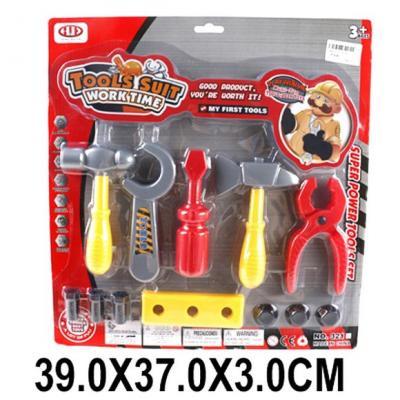 Игровой набор Наша Игрушка Набор инструментов 12 предметов набор музыкальных инструментов наша игрушка