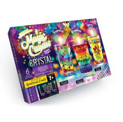 Набор креативного творчества ДАНКО-ТОЙС Свечи своми руками с кристаллами от 7 лет