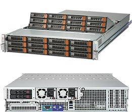 Платформа SuperMicro SSG-6028R-E1CR24N x24 3.5 SAS/SATA LSI3108 2x1600W sys 6028r tr