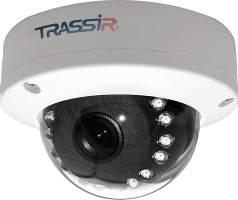 Камера IP Trassir TR-D3111IR1 CMOS 1/3 3.6 мм 1280 x 960 H.264 RJ-45 PoE белый trustfire tr a10 led 500lm 3 mode white light flashlight black 1 x 26650