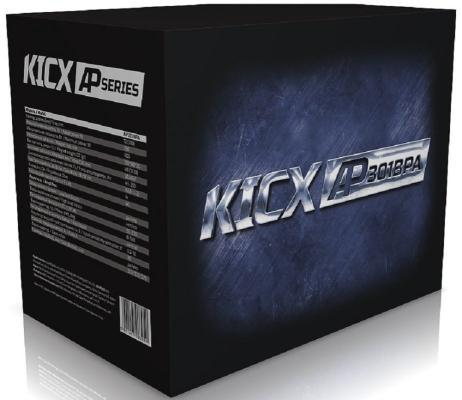 Сабвуфер автомобильный Kicx AP301BPA 350Вт активный (30см/12)