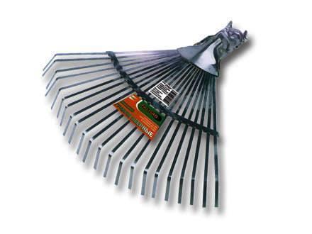 Грабли PALISAD 61702 веерные 22 зуба без черенка регулируемые грабли palisad 61705