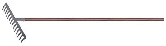 Грабли PALISAD 61789 с деревянным черенком стальные покрытые эпоксидом luxe грабли palisad 61705