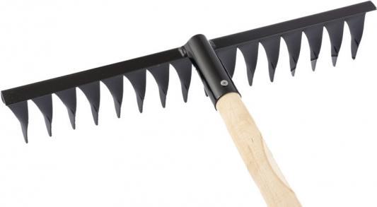 Грабли СИБРТЕХ 61763 16-зубые 420мм с черенком витые грабли сибртех 61747