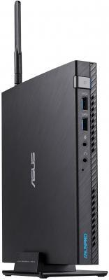 Неттоп Asus E520-B3183M slim i3 7100T (3.4)/8Gb/SSD128Gb/HDG630/noOS/GbitEth/WiFi/BT/65W/черный