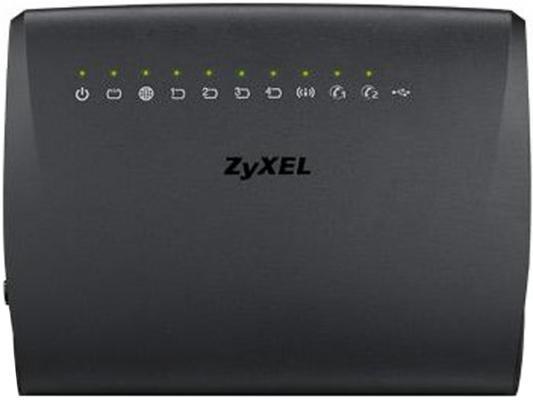 Маршрутизатор беспроводной Zyxel VMG5313-B10B (VMG5313-B10B-EU01V1F) N300 ADSL2+/VDSL2 черный беспроводной маршрутизатор tenda n30 n300 n630 300m