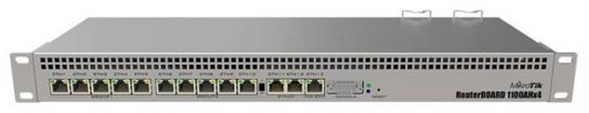 Маршрутизатор MikroTik RB1100AHX4 13xLAN LAN белый маршрутизатор mikrotik rb1100ahx4 13x10 100 1000 mbps rb1100x4