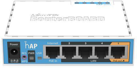 Маршрутизатор MikroTik RB951UI-2ND 802.11bgn 2.4 ГГц 4xLAN белый маршрутизатор mikrotik rb951ui 2nd hap 802 11n 300mbps 2 4ггц 4xlan