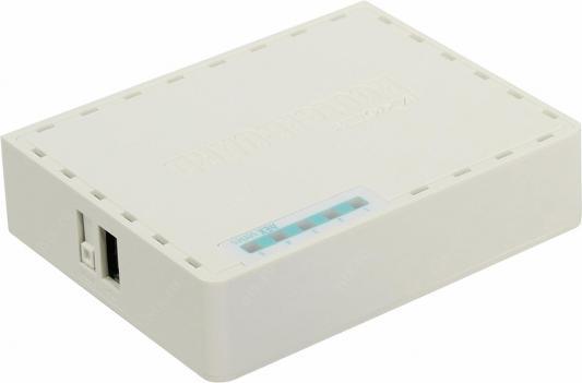 Маршрутизатор MikroTik RB750GR3 4xLAN LAN USB белый все цены