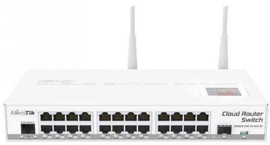 все цены на Коммутатор MikroTic CRS125-24G-1S-2HND-IN 24G 1SFP управляемый онлайн