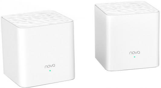 Маршрутизатор беспроводной Tenda MW3-2 Wi-Fi белый wifi роутер tenda nova mw3 3