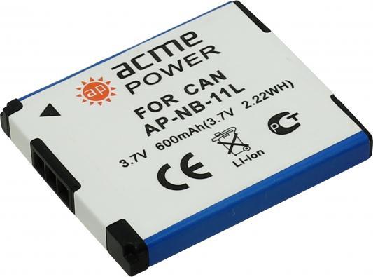 цена на Аккумулятор для компактных камер и видеокамер AcmePower AP-NB-11L для: Canon PowerShot G7/G9/S30/S40/S45/S50/S60/S70/S80/EOS 350D/400D/Rebel XT/MV-5i/5iMC/6iMC/790