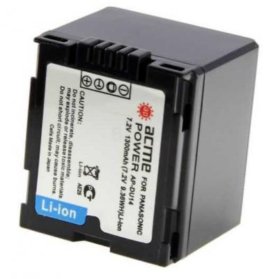 Фото - Аккумулятор для компактных камер и видеокамер AcmePower AP-DU14 аккумулятор для компактных камер и видеокамер acmepower ap li 80b