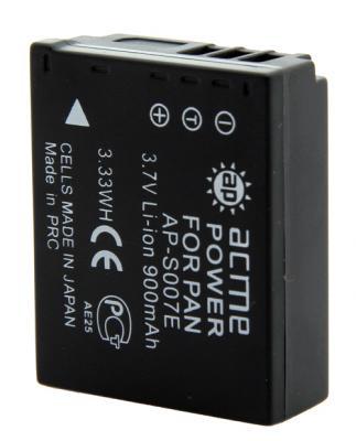Аккумулятор для компактных камер и видеокамер AcmePower AP-S007E аккумулятор для компактных камер и видеокамер acmepower ap np fz100
