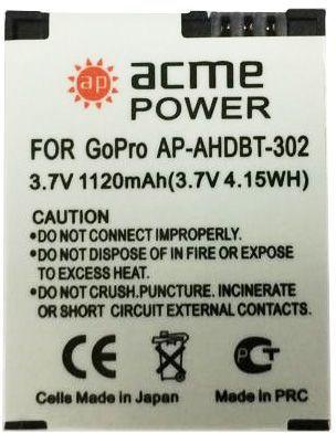 Фото - Аккумулятор для компактных камер и видеокамер AcmePower AP-AHDBT-302 аккумулятор для компактных камер и видеокамер acmepower ap li 80b
