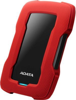 Жесткий диск A-Data USB 3.0 2Tb AHD330-2TU31-CRD HD330 DashDrive Durable 2.5 красный жесткий диск a data usb 3 0 4tb ahd330 4tu31 crd hd330 dashdrive durable 2 5 красный