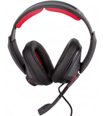 Игровая гарнитура проводная Sennheiser GSP 350 черный красный 507081 игровая гарнитура sennheiser gsp 301 507202