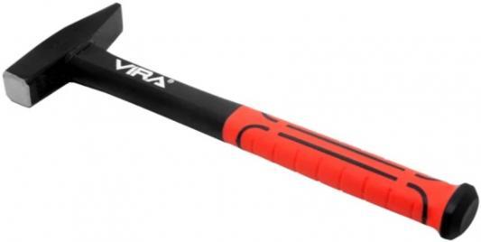 Молоток VIRA 900034 слесарный 400г с фиберглассовой ручкой молоток слесарный kroft 202440 400г пластиковая обрезиненная ручка