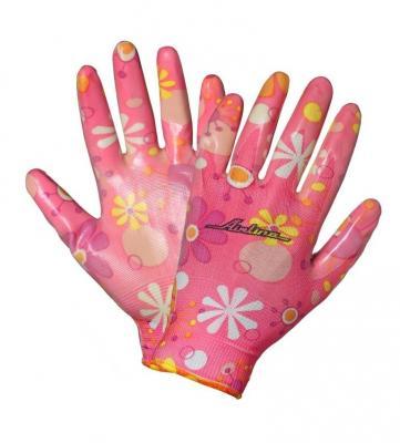 Купить Перчатки AIRLINE AWG-NW-09 нейлоновые женские с цельным полиуретановым покрытием ладони