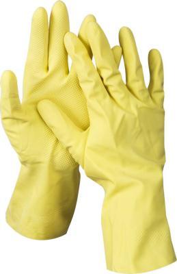 Перчатки DEXX 11201-S латексные х/б напыление рифлёные s перчатки хозяйственные euro house латексные х б напыление s 3700