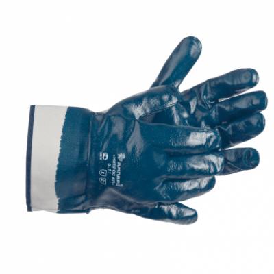 Перчатки ETALON 533 с нитрильным полным покрытием манжет-крага перчатки etalon 543