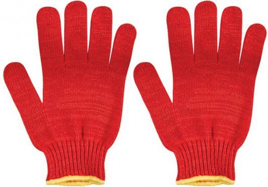 Перчатки вязаные FIT 12498 утепленные, х/б цена