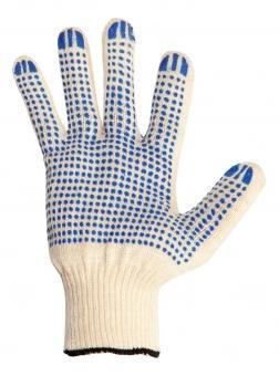 Перчатки NEWTON per 2 10/3 3-х ниточные с ПВХ точка перчатки newton per 2 10 3 3 х ниточные с пвх точка