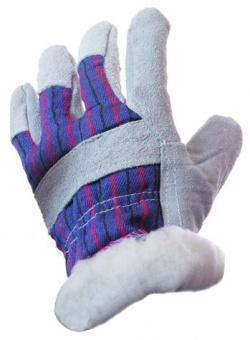 Перчатки NEWTON per51 Ангара спилковые комбинированные утеплённые искусственным мехом перчатки newton per20 русские львы комбинированные спилковые
