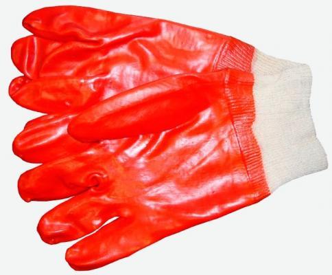 Перчатки NEWTON per45 Гранат маслобензостойкие с полным ПВХ обливом