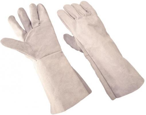 Краги сварщика NEWTON 5 Эконом спилковые пятипалые серые перчатки newton per7 ангара люкс комбинированные спилковые
