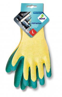 Перчатки БЕРТА 540 с латексным покрытием утепленные.