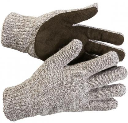 Перчатки утепленные ЗУБР 11468-XL флис/подк спилк/наладонник акрил/полушерсть L-XL перчатки stayer master трикотажные 13 класс l xl 11409 h10