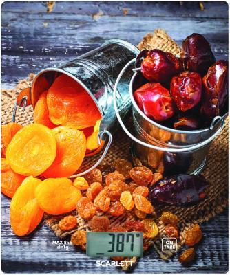 Весы кухонные Scarlett SC-KS57P33 рисунок