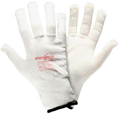 Фото - Перчатки МАНИПУЛА Нейлон нейлоновые белые перчатки манипула антистатик нейлоновые антистатические белые без пвх