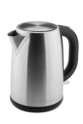 Чайник электрический Scarlett SC-EK21S49 1.7л. 2200Вт нержавеющая сталь чайник scarlett sc ek21s32 2200вт 1 7л металл