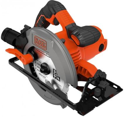 Циркулярная пила Black & Decker CS1550-QS 1500 Вт 190мм цена
