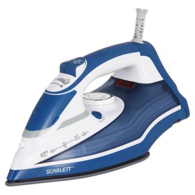 лучшая цена Утюг Scarlett SC-SI30K17 2400Вт синий белый