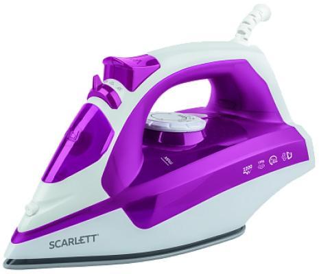 Утюг Scarlett -SI30K25 2200Вт розовый