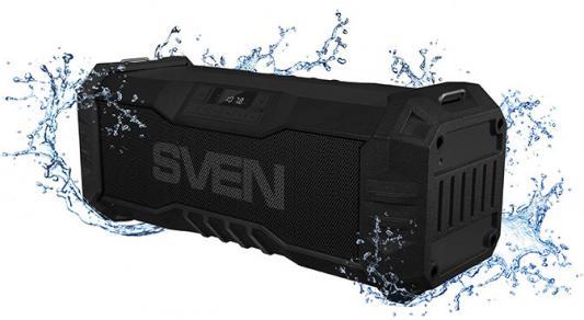 Колонка порт. Sven PS-430 черный 15W 1.0 BT/USB