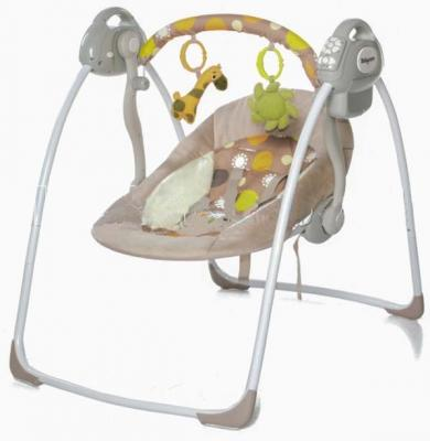 Электронные качели Baby Care Riva (коричневое) электрокачели baby care riva с адаптером кофейный