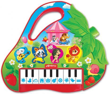 Интерактивная игрушка АЗБУКВАРИК Пианино Клубничка от 3 лет азбукварик планшет веселая радуга с пианино