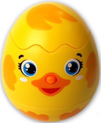 Купить Интерактивная игрушка АЗБУКВАРИК Яйцо-сюрприз Утенок от 1 года, разноцветный, н/д, унисекс, Игрушки со звуком