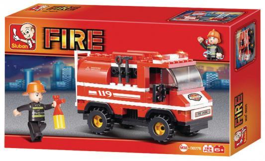 цена на Конструктор SLUBAN Пожарные спасатели 133 элемента