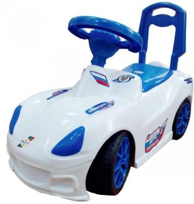Каталка-машинка Orion Toys Полиция бело-синий от 1 года пластик ОР160кПол каталка машинка rich toys mercedes benz пластик от 1 года музыкальная черный матовый 332р