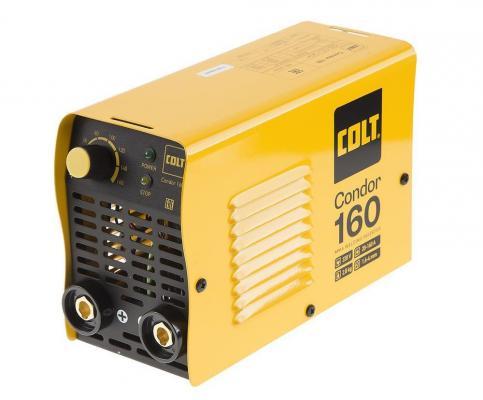 Инвертор COLT Condor 160 сварочный max ток 160А инвертор сварочный colt condor 200а маска сварщика